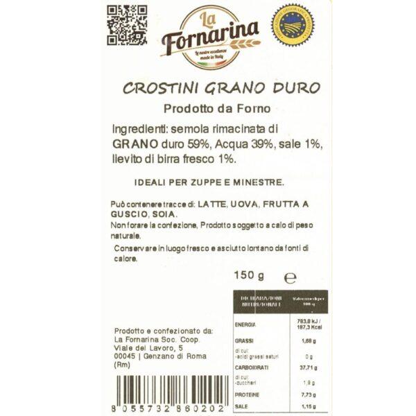 crostini grano duro