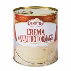 crema quattro formaggi demetra