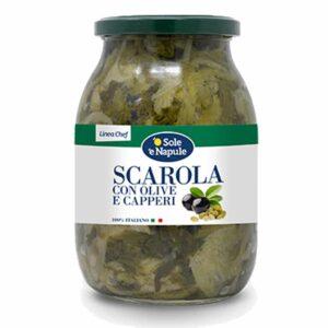 scarola capperi olive