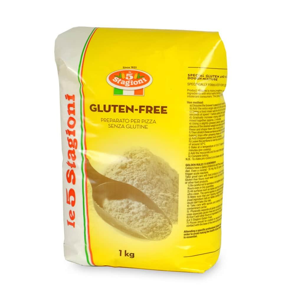 Miscela per Pizza GLUTEN FREE farina senza GLUTINE 1Kg ...