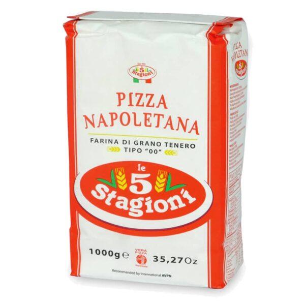 faina de pizza napolitană-5-sezoane
