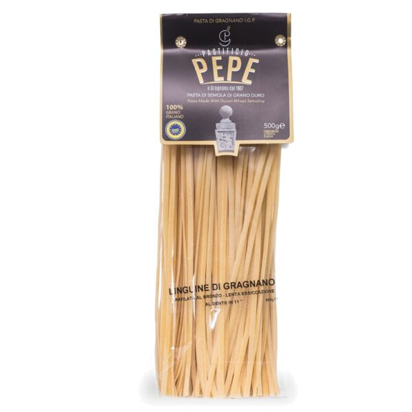 linguine pasta di gragnano pastificio pepe